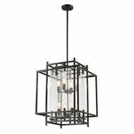 ELK 14205-4-4 Intersections Contemporary Oil Rubbed Bronze Foyer Lighting