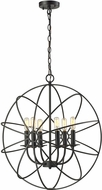 ELK 14244-6 Yardley Contemporary Oil Rubbed Bronze Hanging Pendant Light