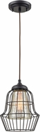ELK 14246-1 Yardley Contemporary Oil Rubbed Bronze Mini Pendant Lamp