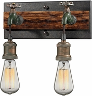 ELK 14281-2 Jonas Modern Multi-tone Weathered 2-Light Wall Lamp