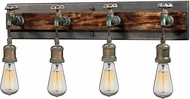 ELK 14283-4 Jonas Modern Multi-tone Weathered 4-Light Sconce Lighting