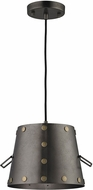 ELK 14300-1 Ephrata Contemporary Weathered Iron Mini Lighting Pendant