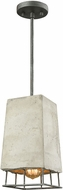 ELK 14318-1 Brocca Modern Silverdust Iron Mini Pendant Light Fixture
