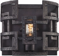 ELK 14330-1 Garriston Contemporary Clay Iron Lamp Sconce