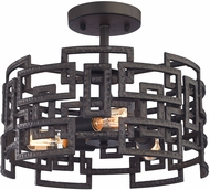 ELK 14331-3 Garriston Modern Clay Iron Ceiling Lighting