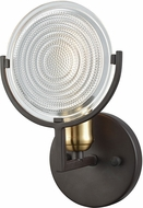 ELK 14500-1 Ocular Modern Oil Rubbed Bronze,Satin Brass Wall Lighting