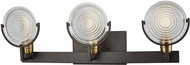ELK 14502-3 Ocular Modern Oil Rubbed Bronze,Satin Brass 3-Light Bath Lighting Fixture