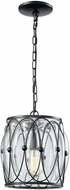 ELK 14520-1 Adriano Modern Gloss Black Mini Drop Lighting