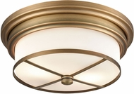 ELK 15055-2 Flushes Contemporary Classic Brass Flush Lighting