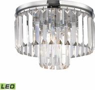 ELK 15213-1-LED Palacial Polished Chrome LED Ceiling Light Fixture