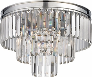 ELK 15215-3 Palacial Polished Chrome Ceiling Lighting Fixture