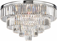 ELK 15216-6 Palacial Polished Chrome Flush Lighting