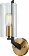 ELK 15310-1 Blakeslee Contemporary Matte Black / Satin Brass Wall Sconce Lighting