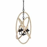 ELK 15901-4 Pearce Contemporary Matte Black Mini Lighting Chandelier