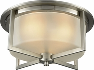 ELK 15989-3 Vancourt Contemporary Satin Nickel Ceiling Light Fixture