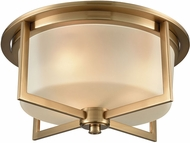 ELK 15999-3 Vancourt Modern Satin Brass Flush Lighting