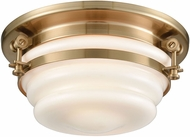 ELK 16093-2 Riley Modern Satin Brass 12  Flush Mount Light Fixture