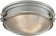 ELK 16123-2 Sylvester Modern Weathered Zinc / Satin Nickel Overhead Light Fixture
