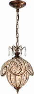 ELK 16260-1 Jubilee Spanish Bronze Mini Pendant Lighting Fixture