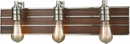 ELK 16431-3 Brookweiler Polished Nickel 3-Light Vanity Light Fixture