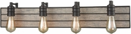 ELK 16442-4 Brookweiler Oil Rubbed Bronze 4-Light Bathroom Wall Sconce