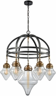 ELK 16461-7 Gramercy Oil Rubbed Bronze,Classic Brass Chandelier Light