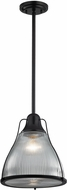 ELK 17255-1 Halophane Modern Oil Rubbed Bronze Mini Hanging Light