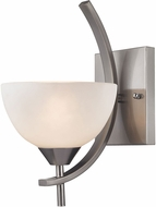 ELK 17260-1 Freeland Modern Brushed Nickel Wall Sconce Lighting