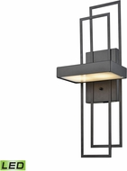 ELK 17280-LED Crossroads Modern Oil Rubbed Bronze LED Lighting Wall Sconce