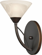 ELK 17640-1 Contemporary Oil Rubbed Bronze Wall Light Fixture