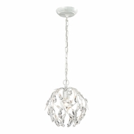 ELK 18123-1 Circeo Modern Antique White Mini Drop Ceiling Lighting