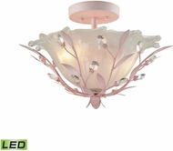 ELK 18151-2-LED Circeo Light Pink LED Ceiling Light
