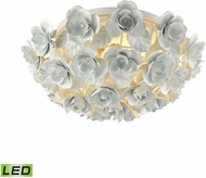 ELK 18203-2-LED Bouquet Contemporary Matte White LED Ceiling Lighting Fixture