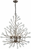 ELK 18243-6 Crislett Sunglow Bronze Chandelier Lighting
