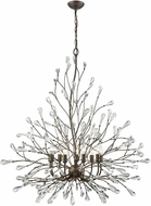 ELK 18244-9 Crislett Sunglow Bronze Lighting Chandelier