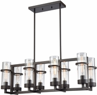 ELK 21146-8 Holbrook Modern Oil Rubbed Bronze Kitchen Island Light Fixture