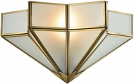 ELK 22015-1 Decostar Modern Brushed Brass Wall Lighting Fixture