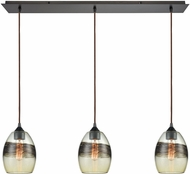 ELK 25122-3LP Whisp Modern Oil Rubbed Bronze Multi Pendant Lighting