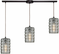 ELK 25123-3L Murieta Contemporary Oil Rubbed Bronze Multi Hanging Light