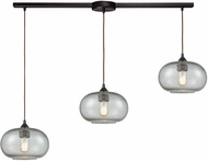 ELK 25124-3L Volace Contemporary Oil Rubbed Bronze Multi Hanging Light Fixture