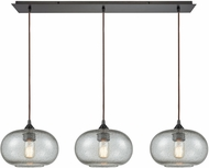 ELK 25124-3LP Volace Modern Oil Rubbed Bronze Multi Drop Lighting