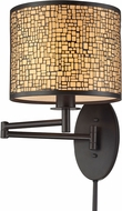 ELK 31048-1 Medina Oil Rubbed Bronze Wall Swing Arm Lamp