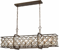 ELK 31099-8 Armand Weathered Bronze Island Lighting