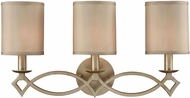 ELK 31129-3 Estonia Aged Silver 3-Light Bathroom Lighting Sconce