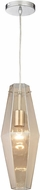 ELK 31215-1 Pelham Contemporary Polished Chrome Mini Ceiling Pendant Light