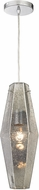 ELK 31216-1 Pelham Contemporary Polished Chrome Mini Pendant Light