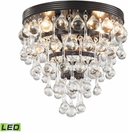 ELK 31272-3-LED Ramira Oil Rubbed Bronze LED Flush Mount Ceiling Light Fixture