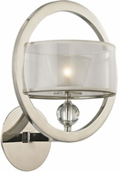 ELK 31295-1 Corisande Polished Nickel Halogen Light Sconce