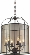 ELK 31398-6 Fenton Oil Rubbed Bronze Foyer Light Fixture