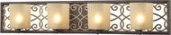 ELK 31439-4 Santa Monica Weathered Bronze/Gold Halogen 4-Light Lighting For Bathroom